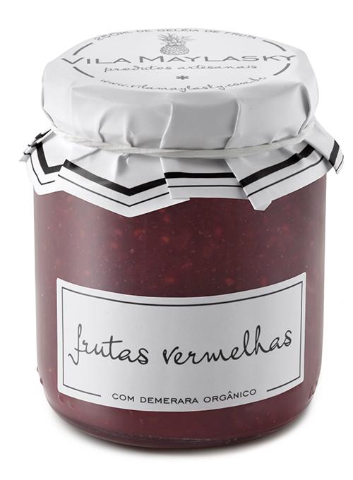 Frutas Vermelhas Demerara (250ml)